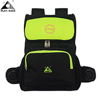 PLAYKING Cycling Motorcycle Backpack Bag With Reflective Safety LED Indicator Light With Speaker For Bicycle Backpack Bag
