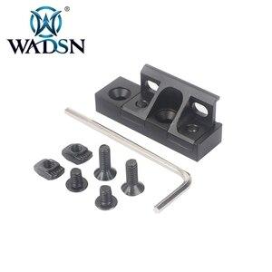 Image 2 - WADSN тактический флэш светильник Mlok Keymod светильник с креплением для Surfire M300/M600/M300V/M600V/M600B Softair скаутские огни светильник s
