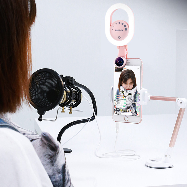 Selfie Ring Light With Lens