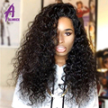 3 Bundles Alimice Malaysian Virgin Hair Water Wave 8A Unprocessed Wet and Wavy Human Hair Extension Malaysian Curly Hair Weave