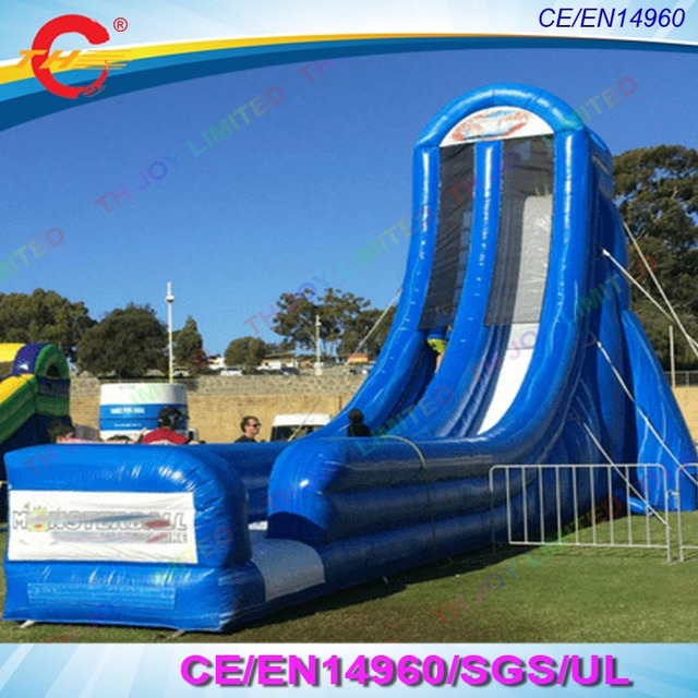 Free sea shipping 2018 new design giant Inflatable Slide