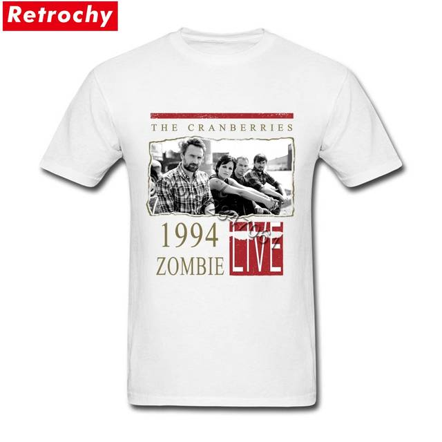 38b2c6f30 Online Shop The Cranberries T Shirt zombie live 1994 Tee Shirts Men Vintage  Tee Tops Crew Neck Discount Branded Clothing Valentines Present |  Aliexpress ...