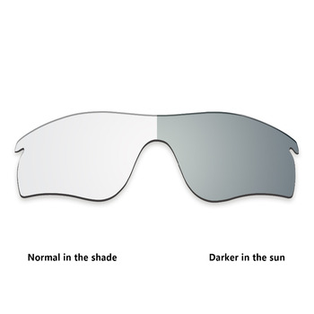 ToughAsNails Replacement Lenses for Oakley RadarLock Path Sunglasses Photochromic Clear (Lens Only)