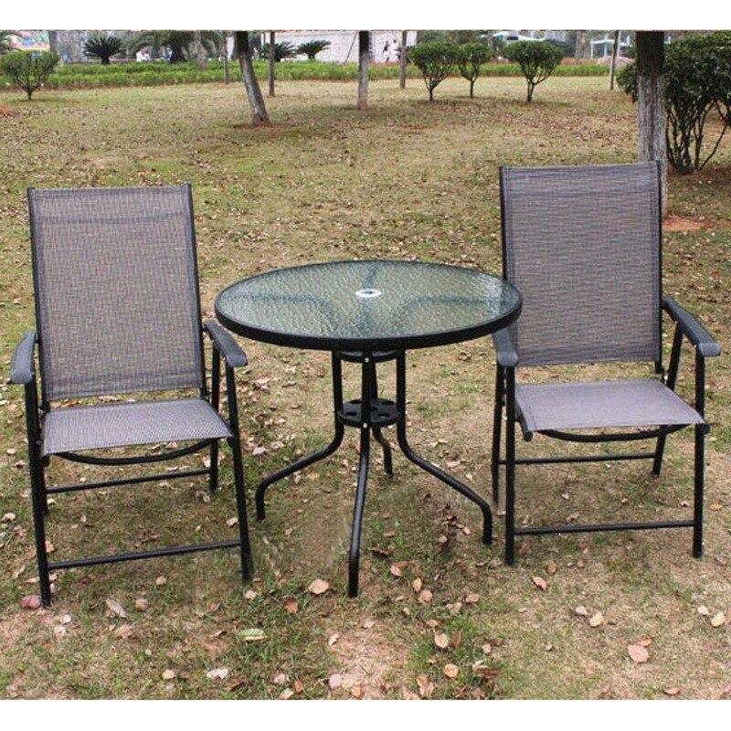 Compra muebles de hierro forjado al aire libre online al for Muebles para terraza al aire libre