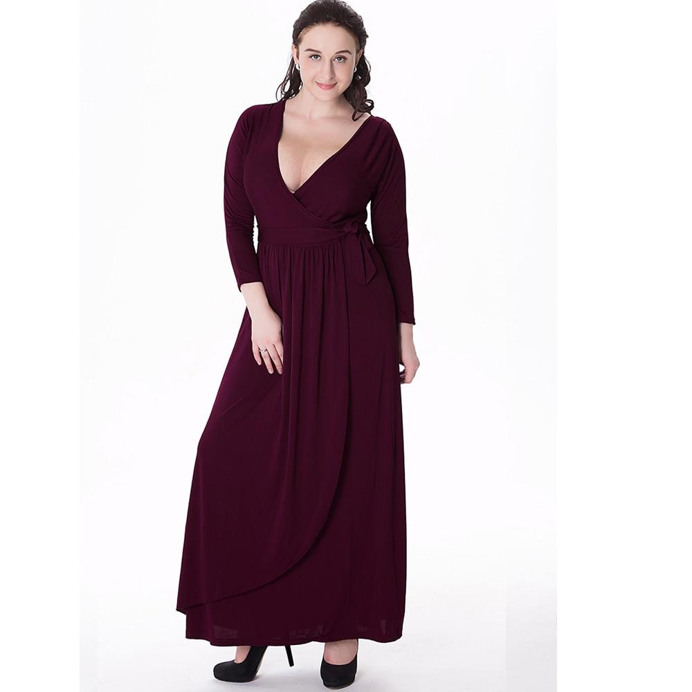 Online Get Cheap Black Long Sleeve Maxi Dress -Aliexpress.com ...