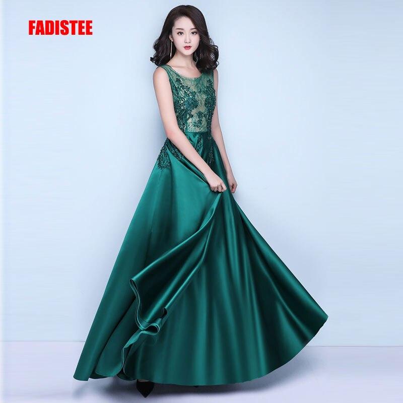 FADISTEE New arrival elegant party dress evening dresses Vestido de Festa gown beading crystal lace Robe
