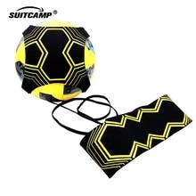 Football  Training Soccer Kick Solo Trainer Belt Adjustable Swing Bandage Control Aid Equipment Waist Belts Ball
