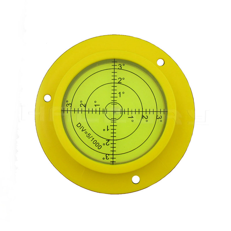 HACCURY 90*17mm Four Styles Big Universal level Bubble Level with Mounting hole for Construction Machinery