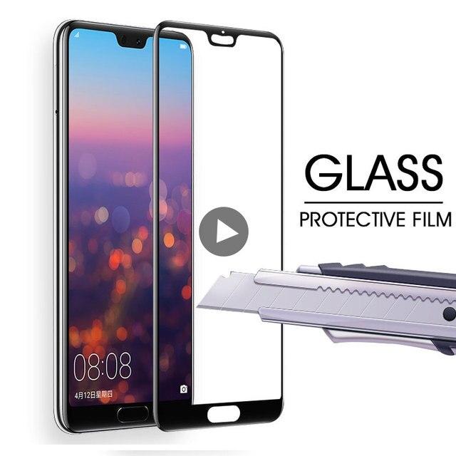 Kính cường lực Trên Cho Huawei P20 Lite P20 Pro Full Bao Da Bảo Vệ Màn Hình Trong Cho Huawei P20 Lite Nova 3E kính bảo vệ Bộ Phim