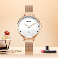Switzerland Luxury Brand Nesun Women's Watches Japan Citizen Quartz Watch Women Relogio Feminino Diamond Wristwatches N8806 1