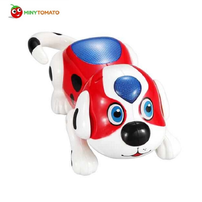 Free shipping Playful Electronic Pet Interactive Dog Electric Dog Toy Music Lights Baby Toy Best Gift For Children