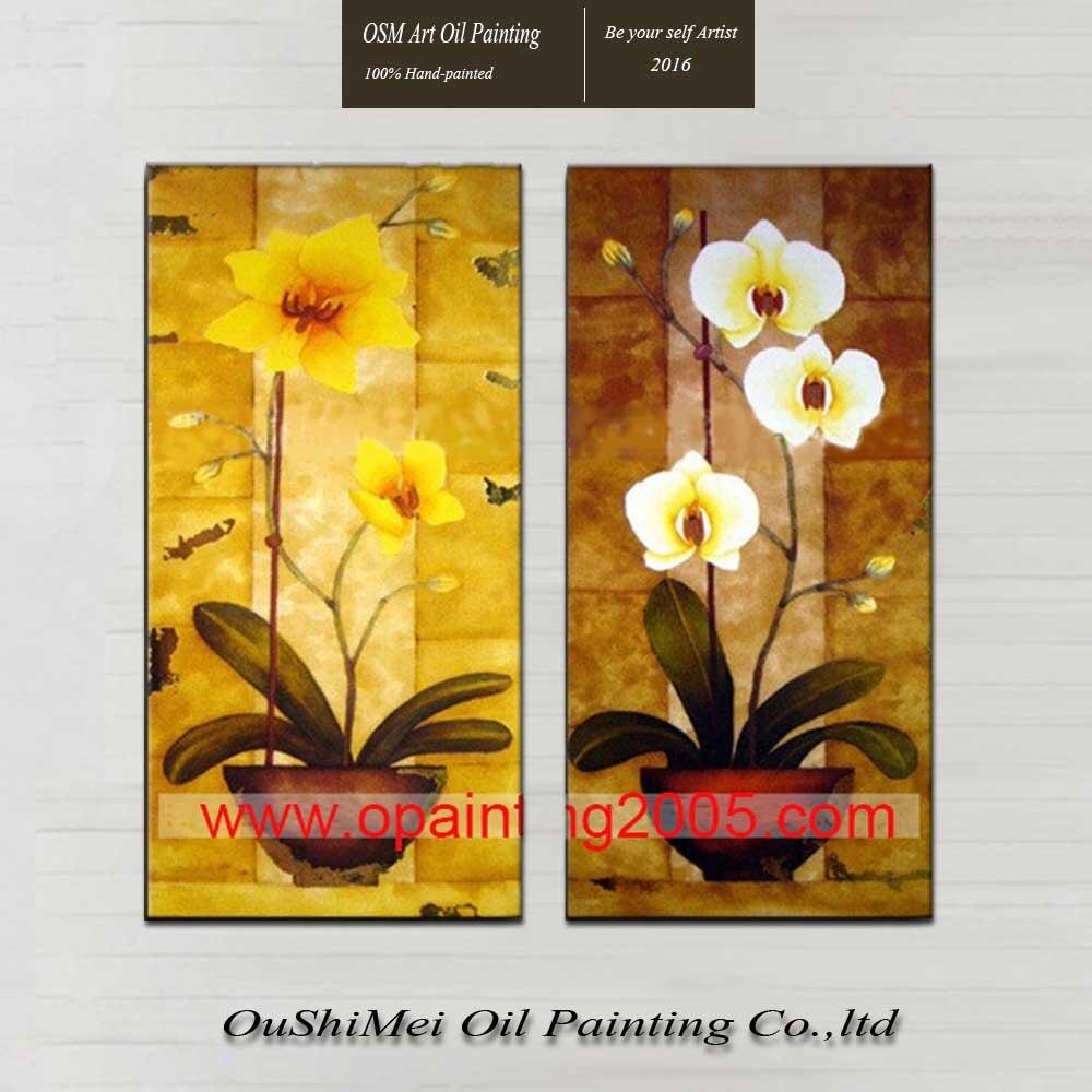 _ Pintados M O Pintura A Leo Na Arte Da Parede Da Lona Flores  -> Tapete De Sala Pintado A Mao