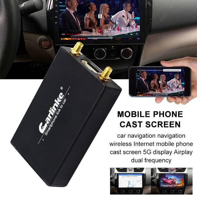 רכב אלחוטי חיבור HDMI טלוויזיה מקל Wifi תצוגת מסך שיקוף תיבת עבור iPhone iOS11 AirPlay אנדרואיד מסך Miracast