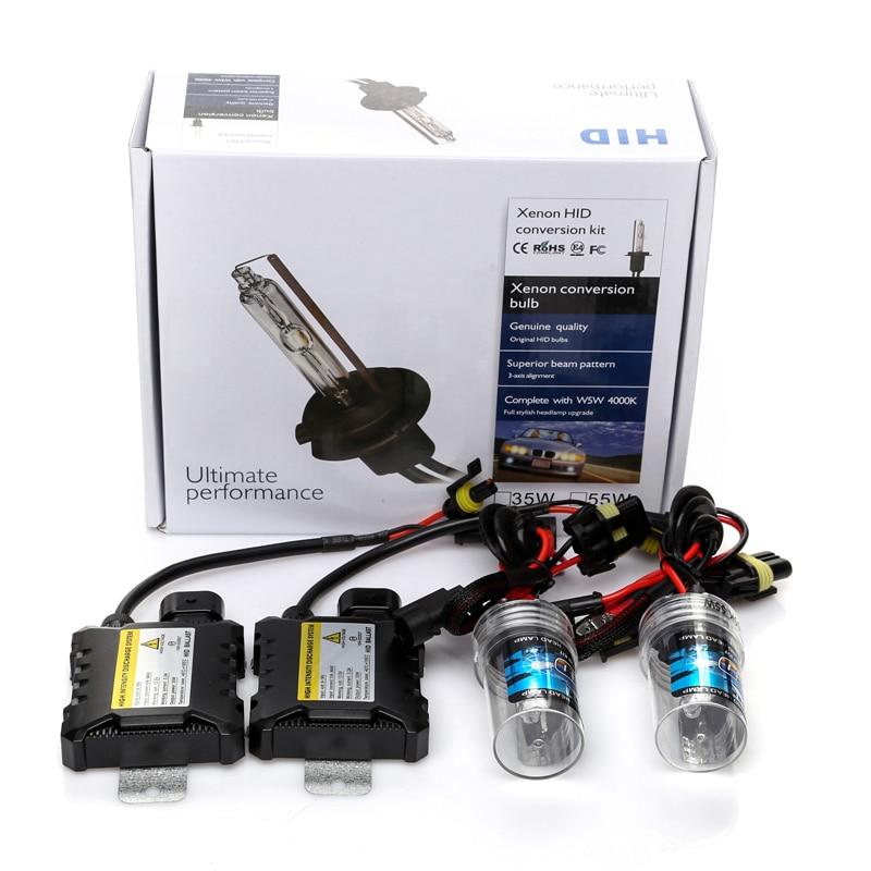 35W hid xenon h7 Car Auto Headlight Light bulb H1 H3 H4 H11 9005 9006 SLIM BALLAST hid xenon kit lamp 4300K 6000K 8000K 10000K can bus car ac hid xenon light kit 9005 6000k decorde slim ballast 12v 35w [ ac124]