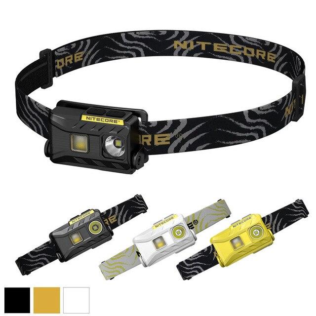 NITECORE NU25 phare 3 * CREE XP G2 S3 max 360 lumen distance de faisceau de phare 81m lumière frontale extérieure avec câble de charge USB
