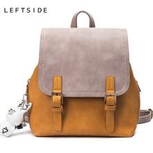 LeftSide ручная сумка женская мода дорожные сумки для 2017, женская обувь Школьный Рюкзак Тенденции моды для девочек Back Pack Путешествия Bagpack