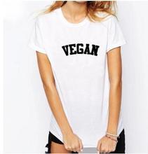VEGAN logo unisex shirt