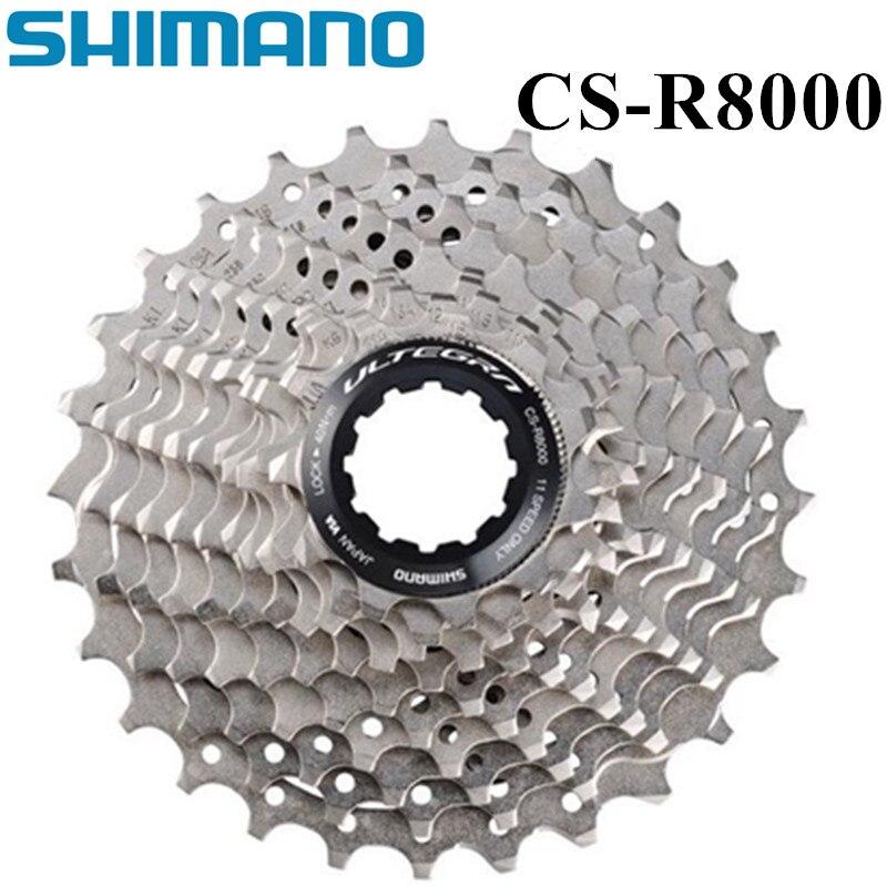 SHIMANO Ultegra CS-R8000 roue libre de vélo de route 11 vitesses R8000 pignon de Cassette 5800 105 volants moteurs 11-32 T 11-30 T 11-28 T 11-25 T