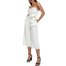 Strapless Backless Party Club Casual Jumpsuit
