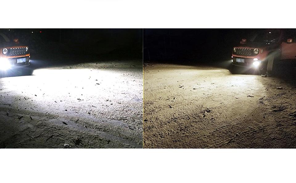 Foxcncar LED 6500K H4 H7 4300K Car Headlight H1 H3 H11 H8 H9 9005 9006 HB3 HB4 auto lamp faro moto Fanless 5000LM 50W DC 12V 24V (4)