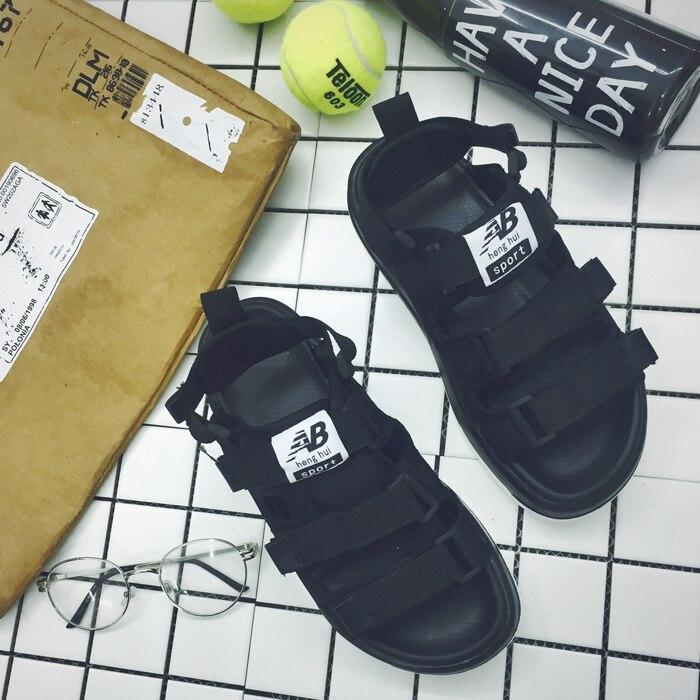 eb6020b503da8 2017 Summer Platform Mens Sandals AB Cool Cutout Rubber Men Sandals Black  Breathable Male Shoes X1386 35-in Men s Sandals from Shoes on  Aliexpress.com ...