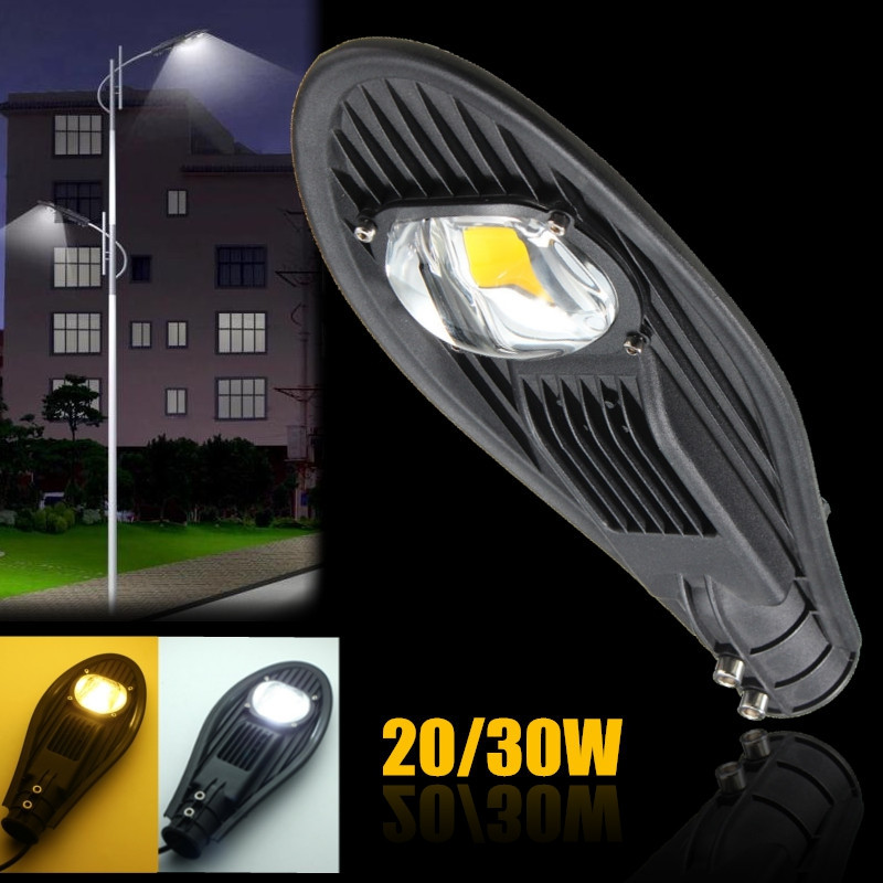 Pure Warm White DC12V 20W 30W Waterproof IP65 Flood Outdoor Lighting Garden Road LED Street Light Industrial Lamp Yard Light 50w ip65 waterproof floodlights white warm white led outdoor light projector lamp garden lighting