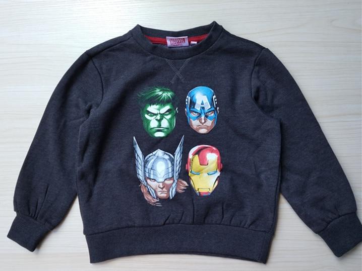 Boy's Cartoon Hero Sweatshirt USA Size 8,10 Year