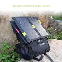 High Efficiency Solar External Battery Outdoors Solar Power Bank for iPhone iPad Samsung HTC Sony LG and more USB Devices