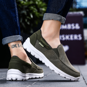 Men Casual Shoes Light Loafers Sneakers 2019 New Fashion Canvas Shoes Comfortable Men casual Shoes Zapatos Casuales Shoes Men