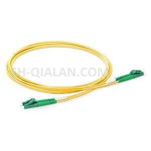 Image 4 - LC APC lc APC 光ファイバパッチコードデュプレックス 2.0 ミリメートルの pvc 光シングルモード FTTH 繊維パッチケーブル LC コネクタ