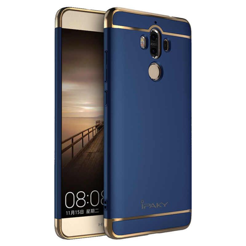 สำหรับ Huawei Mate 9 กรณี iPaky แบรนด์เดิมสำหรับ Huawei Mate 9 ฝาครอบ Fundas Carcasas Hollow Hard เกราะสำหรับ Mate 9 pro