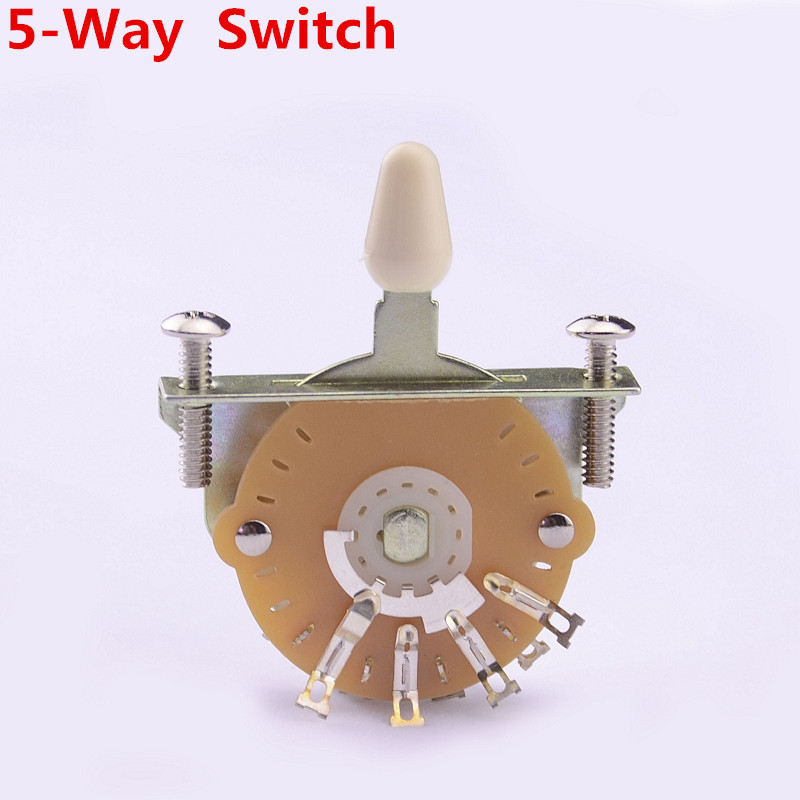 1 Piece GuitarFamily OAK 5-Way Electric Guitar Pickup Selector Switch Pickups Switch ( #0828 )