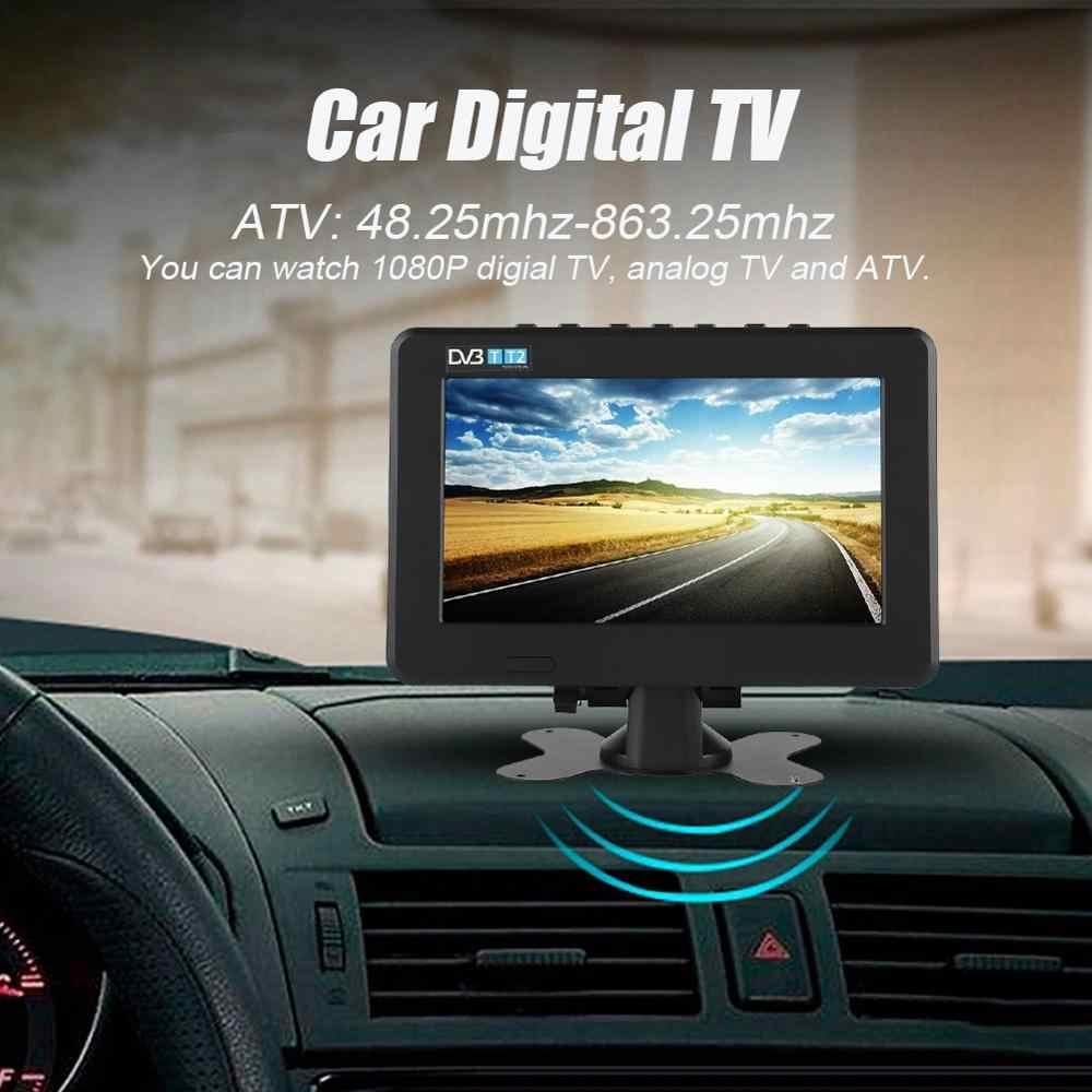 Televizyon ミニテレビ Leadstar 車デジタルテレビ高感度 1080 720p ポータブルテレビアナログ/デジタル Tv/Atv -7In ポータブルテレビ