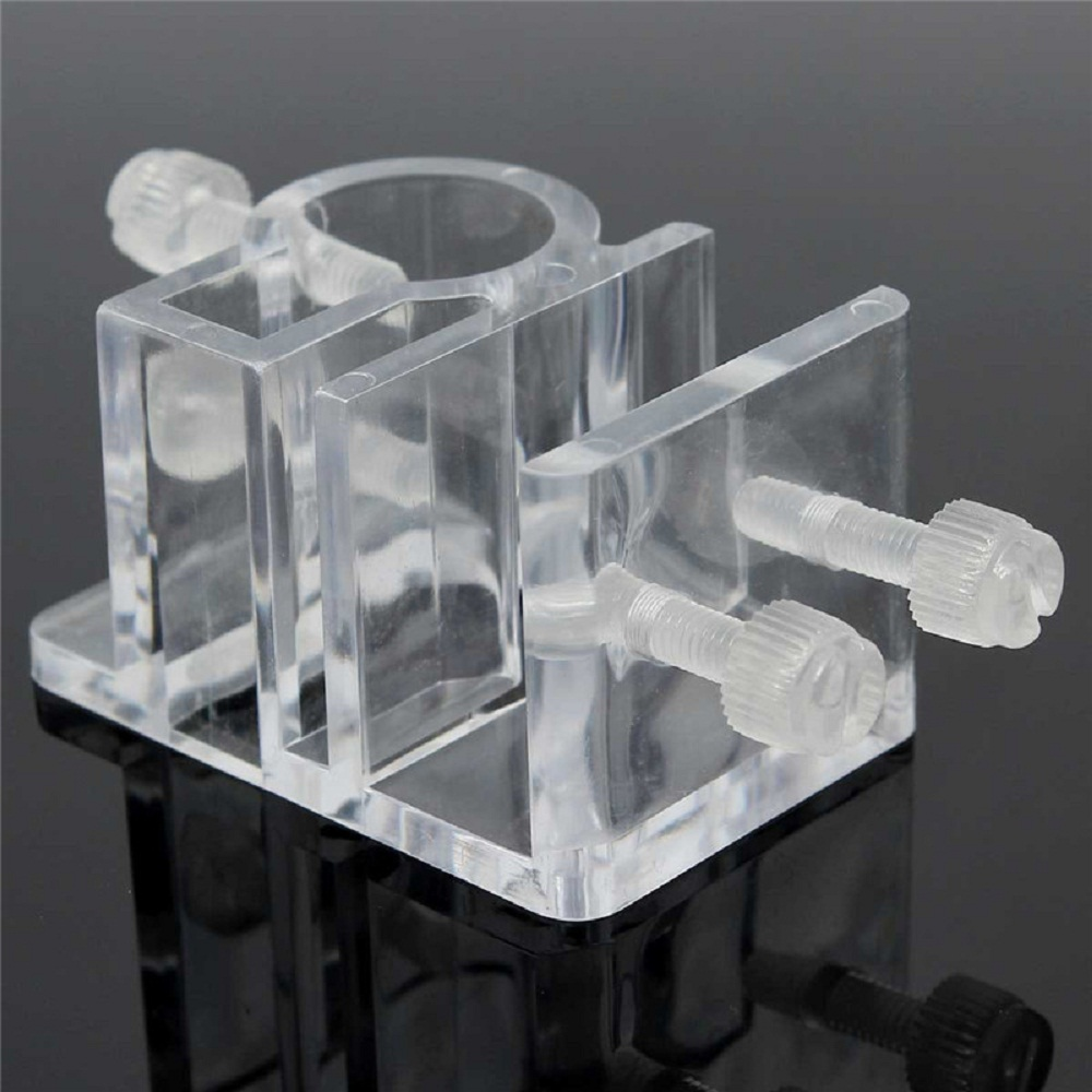 Fish tank acrylic - Aliexpress Com Buy 2pcs Acrylic Plastic Aquarium Hose Tube Fixing Clip Clamps Holder Glass Fish Tank Filter Filtration Mount Water Pipe Hanger From