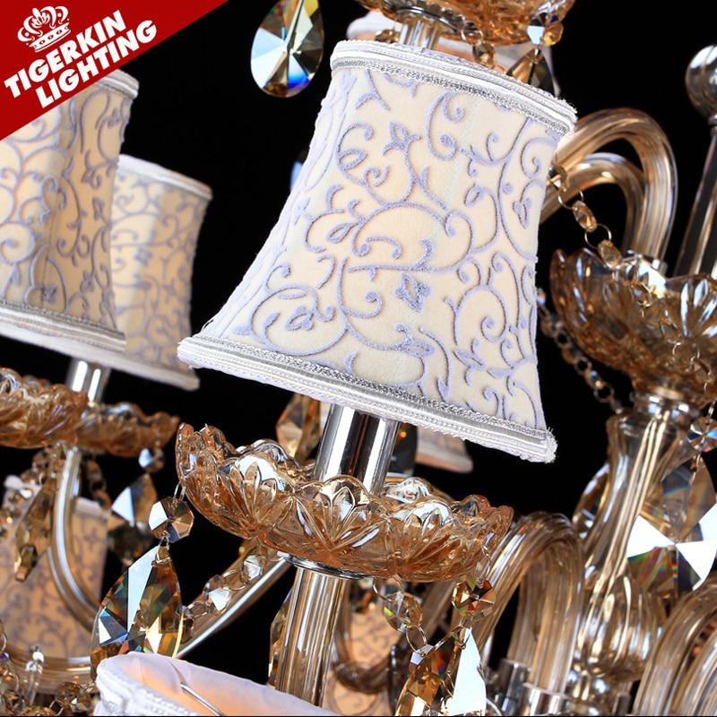 Große kronleuchter leuchte led für küche wohnzimmer hotel kristall - Innenbeleuchtung - Foto 3
