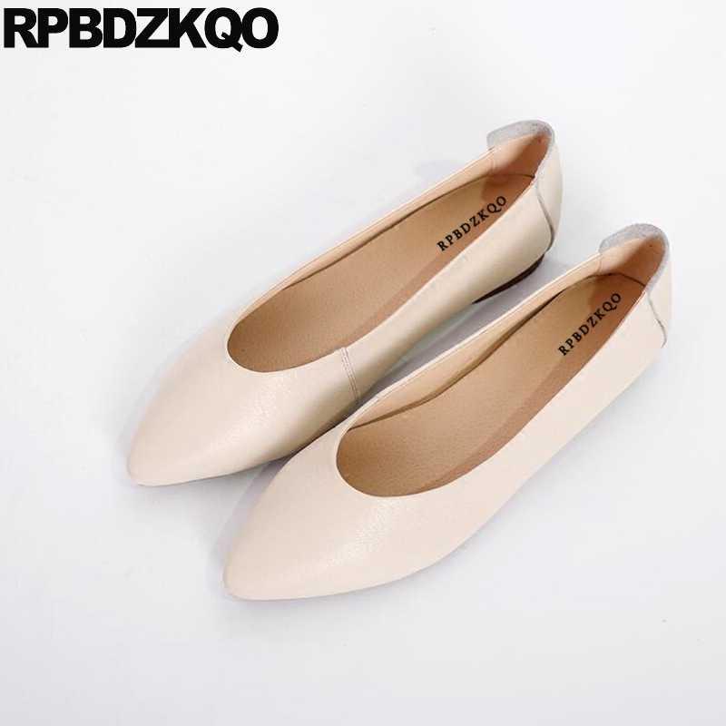 ba11b5f72f206 2018 Ballerina Shoes China Work Maternity Nude Slip On Soft Ballet Flats  Women Designer Ladies Pointed