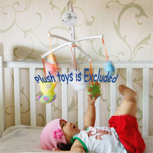 Baby Educational Toys Rotary Baby Mobile Crib Bed Toy Melodies Song Kids Mobile Windup Bell Electric Auto-rotation Music Box tOY