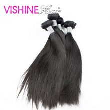 Factory Price 10Pcs Indian Virgin Hair Straight Human hair weaving Natural Virgin Indian Straight can be restyled ms lula hair