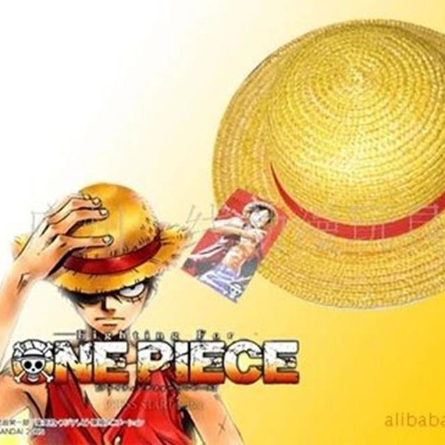 503f6704b4a Anime One Piece Monkey D Luffy Cosplay Hat Straw Boater Beach Hat Cap  Halloween Straw Hat