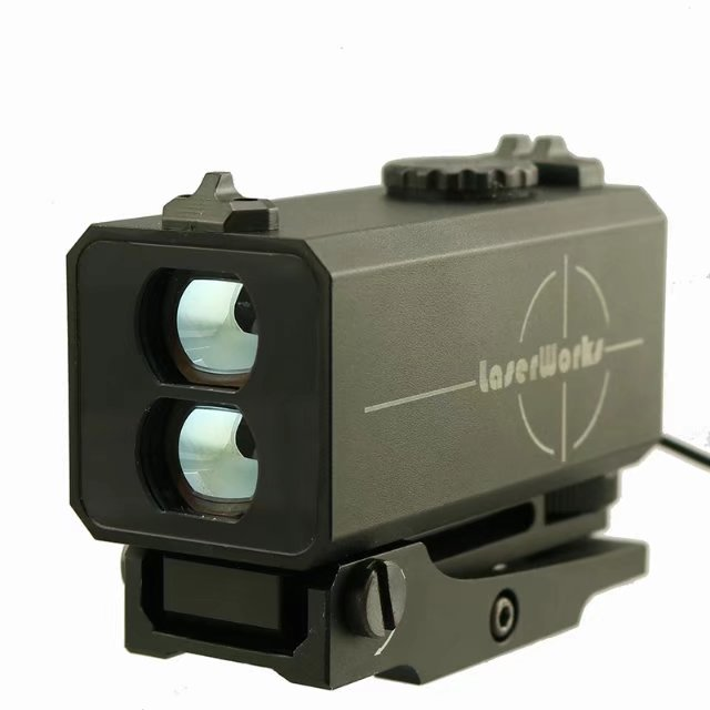 Mini Black/Camouflage 20mm Dovetail Hunting Tactical Laser Rangefinder Scope Mechanical Sight Fit For Gun Riflescope Bow