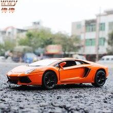 Hot Wheels 1:24 Масштаб Aventador LP 700-4 Суперкаров Литья Под Давлением Автомобиль/Автомобили для Мальчиков