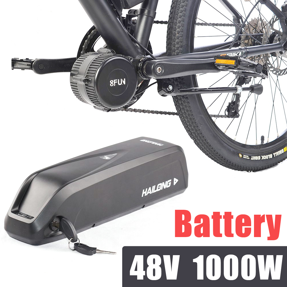 48v electric bike battery for 1000w bafang kits hailong. Black Bedroom Furniture Sets. Home Design Ideas