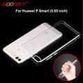 Godgift Huawei P Smart чехол 5.65 дюймов Роскошные Huawei psmart прозрачного ударопрочного силиконовый чехол для Huawei P Smart Телефонные чехлы - фото