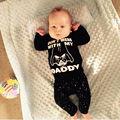 Новорожденный Ребенок Мальчики Девочки Star Wars Одежда Топы футболка + Длинные Брюки Экипировка Набор 2 шт.