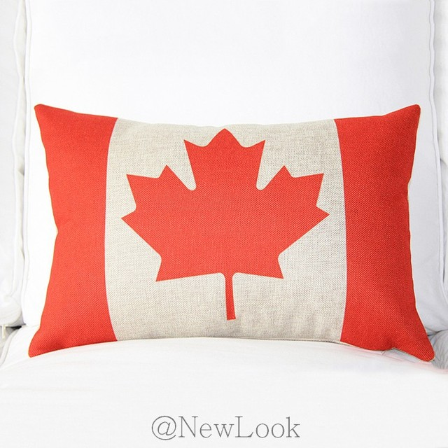40 World Cup Canadian Flag Of Canada Decorative Throw Pillows Custom Decorative Throw Pillows Canada