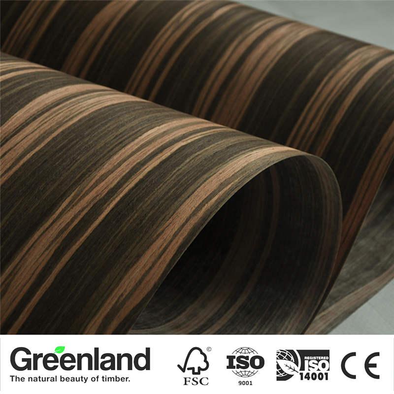 Ebony Veneers Flooring DIY Furniture Natural 250x60 Cm Bedroom Chair Night Stand Wooden Wardrobe Massage Table