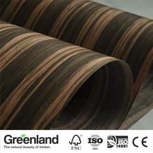 Heban fornir podłogi DIY meble naturalne 250x60 cm sypialnia krzesło Stolik nocny drewniana szafa stół do masażu