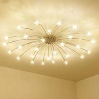 Modern Mini LED stars ceiling lamps Meteor Glass Dandelion LED Ceiling Lighting Light for Bedroom home Decoration Ceiling lamps