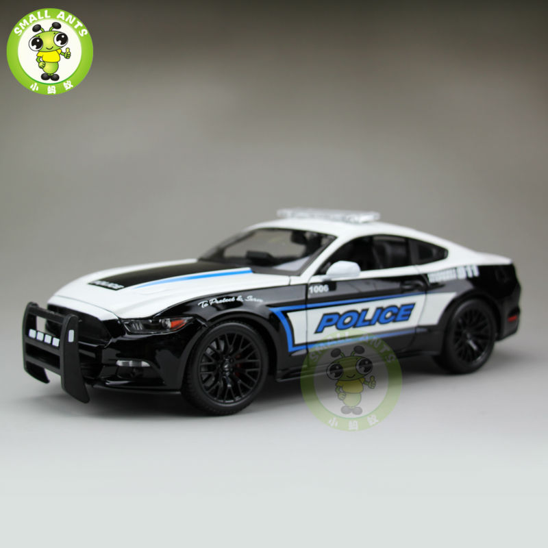1:18 Ford Mustang GT Car diecast car model for gifts collection hobby hot sale ford mustang police 1 18 welly s281 original alloy car model toy matte black fast