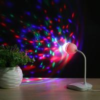 Mini Portable USB Powered LED Stage Light Effect Colorful Ktv DJ Light Disco Light Party